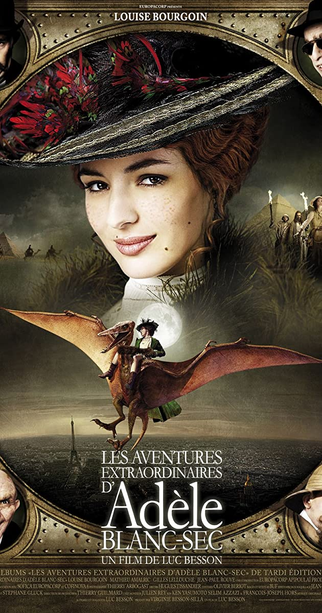 Les aventures extraordinaires d\'Adèle Blanc-Sec (2010) - Full Cast ...