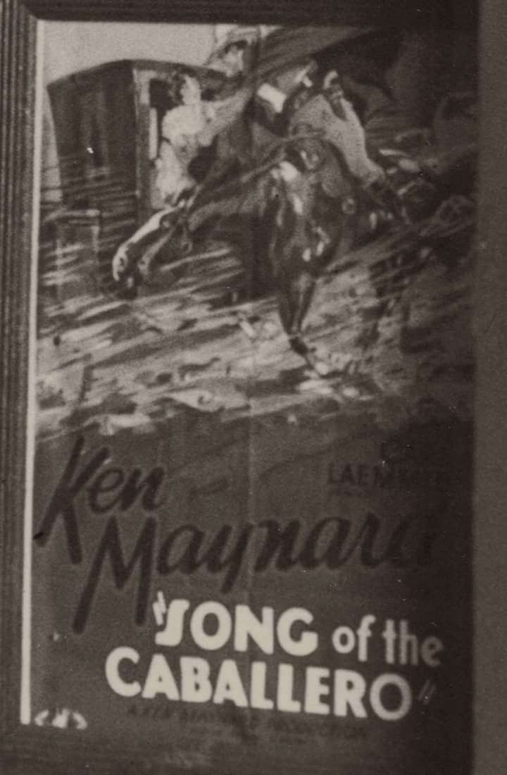 Doris Hill and Ken Maynard in Song of the Caballero (1930)