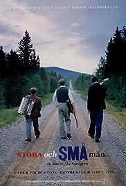 Stora och små män Poster