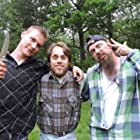Krister Twizz Forsberg, Oscar Rusanen, and Jesper Hall in Sargad (2017)