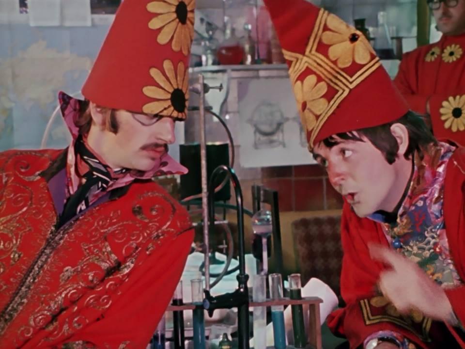 Risultati immagini per the beatles magical mystery tour film