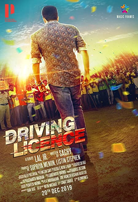 Driving Licence (2019) Malayalam WEB-DL - 480P | 720P - x264 - 350MB | 1.4GB - Download & Watch Online With Subtitle Movie Poster - mlsbd