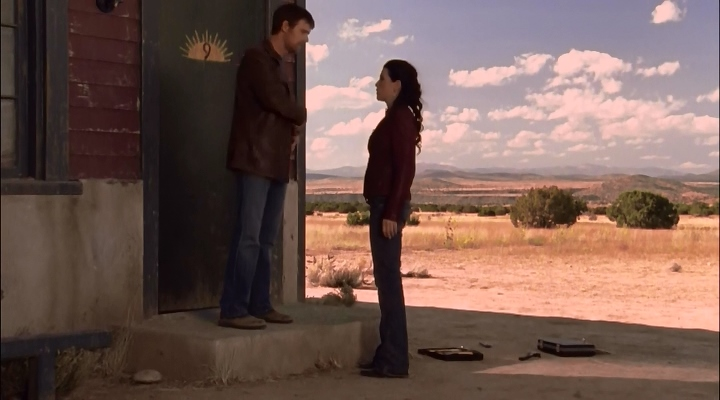 Julianna Margulies and Peter Krause in The Lost Room (2006)