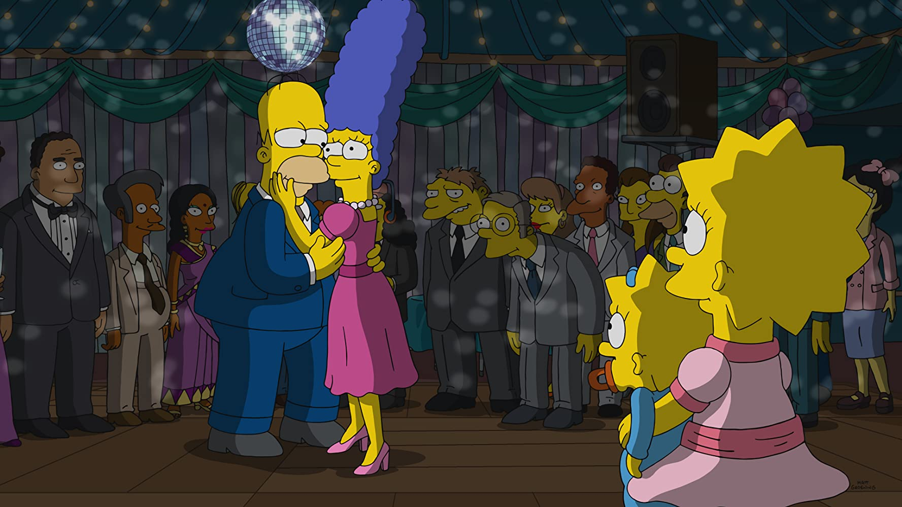 Hank Azaria, Julie Kavner, Dan Castellaneta, and Yeardley Smith in The Simpsons (1989)
