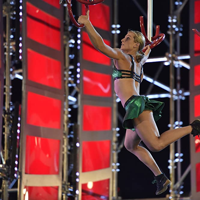 Jessie Graff at an event for American Ninja Warrior (2009)