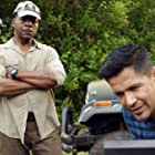 Carl Weathers and Jay Hernandez in Magnum P.I. (2018)