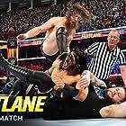 Bryan Danielson, Kevin Steen, and Adeel Alam in WWE Fastlane (2019)