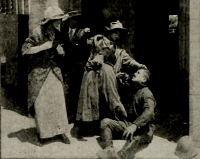 Louise Lester and Jack Richardson in Calamity Anne's Sacrifice (1913)