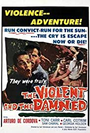 The Violent and the Damned Poster