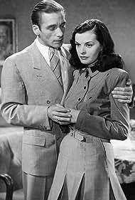 Albert Hehn and Margot Hielscher in Der Täter ist unter uns (1944)