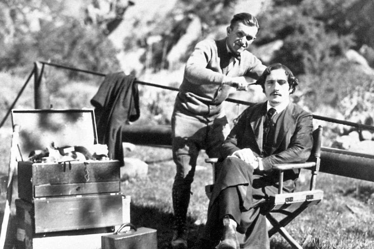 Otto Matieson and Jack P. Pierce in Surrender (1927)