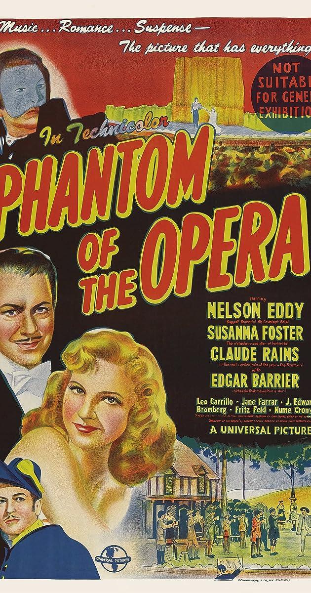 Subtitle of Phantom of the Opera