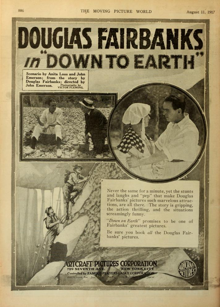 Down to Earth (1917)