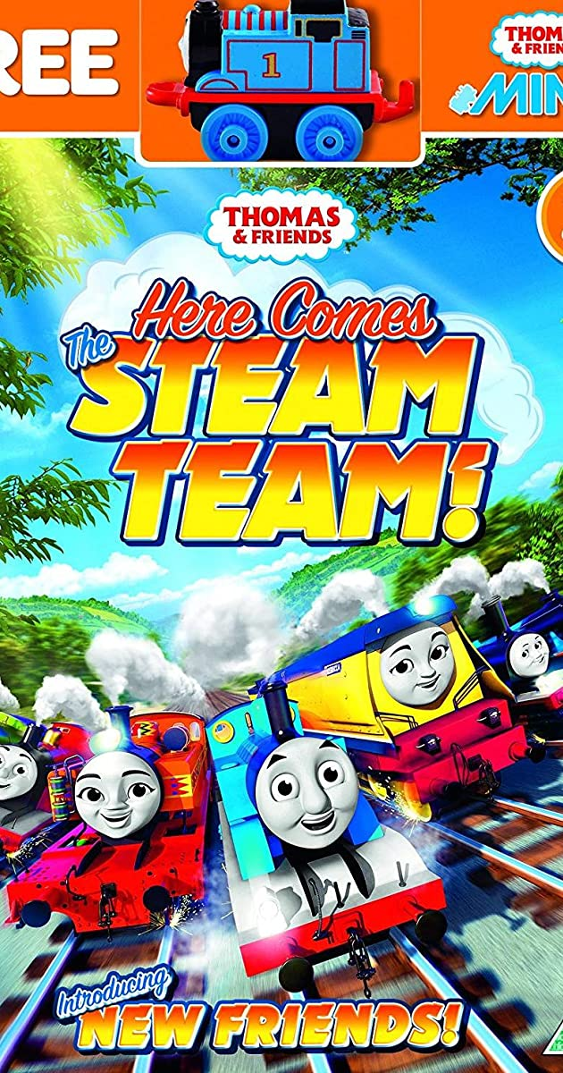 Thomas & Friends: Here Comes the Steam Team! (Video 2018