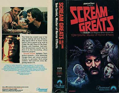 Site download series movies Scream Greats, Vol. 1: Tom Savini, Master of Horror Effects by [360p]