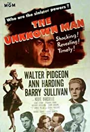 The Unknown Man(1951) Poster - Movie Forum, Cast, Reviews