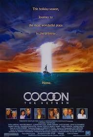 Steve Guttenberg, Don Ameche, Wilford Brimley, Courteney Cox, Jessica Tandy, Hume Cronyn, Tahnee Welch, Jack Gilford, Maureen Stapleton, and Gwen Verdon in Cocoon: The Return (1988)