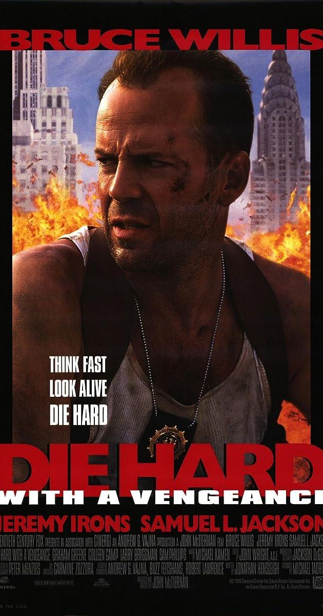 Kietas riešutėlis 3 Kerštas su kaupu / Die Hard with a Vengeance (1995)