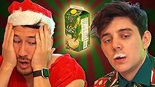 Santa's Mukbang (Drinking 1 Gallon of Eggnog)