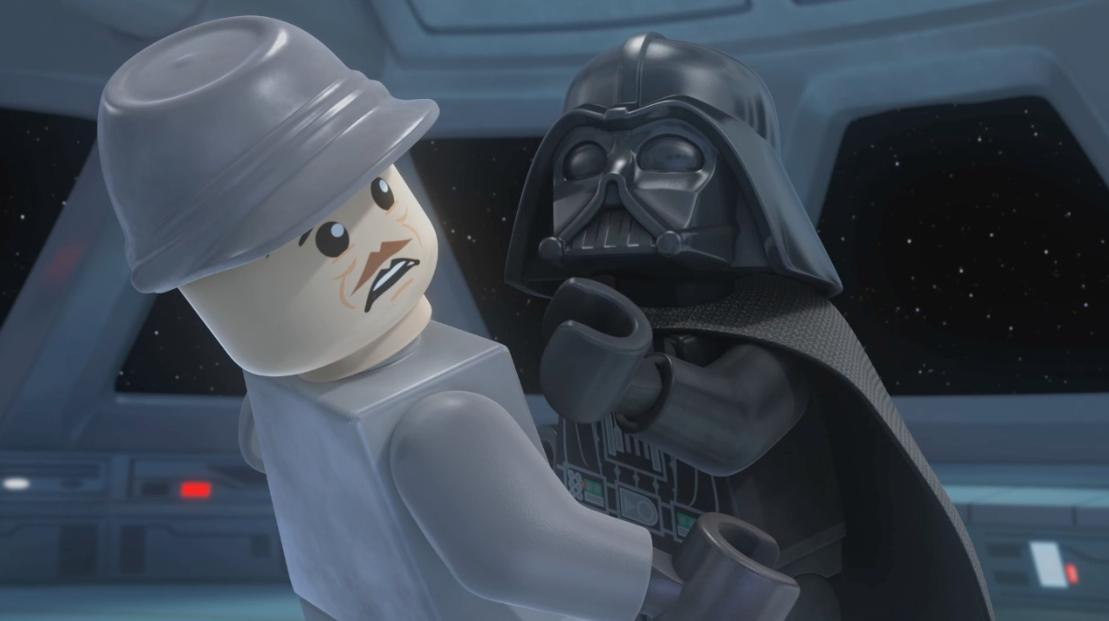 LEGO Star Wars - The Empire Strikes Out (Voice of Admiral Ozzel)