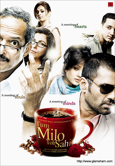 Tum Milo Toh Sahi (2010) Hindi Movie 400MB HDRip ESubs Download