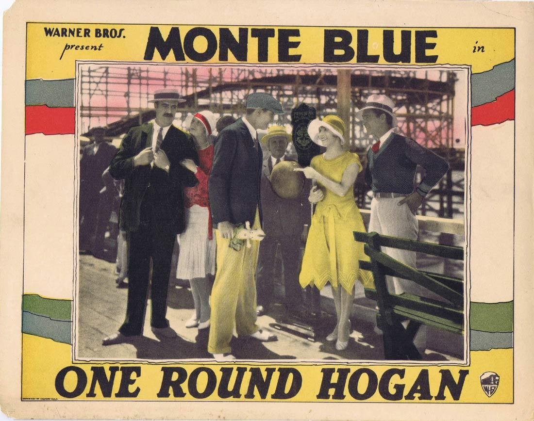 Monte Blue, Tom Gallery, Frank Hagney, Leila Hyams, James J. Jeffries, and Texas Kid in One-Round Hogan (1927)