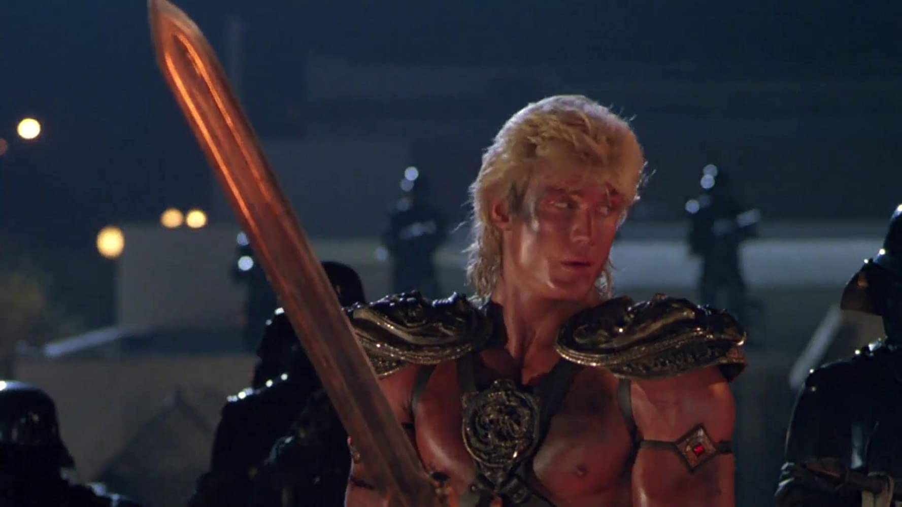 Image result for Masters of the Universe (1987)
