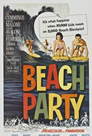 Beach Party (1963) Poster - Movie Forum, Cast, Reviews
