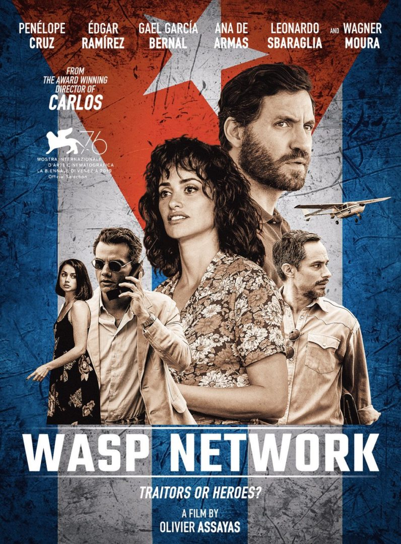 Wasp Network (2019) Unofficial Hindi Dubbed 720p HDRip Esubs DL