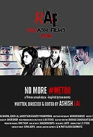 No More #MeToo Poster