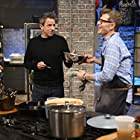 Bobby Flay and Seth Meyers in It's Gonna Be a Late Night (2019)