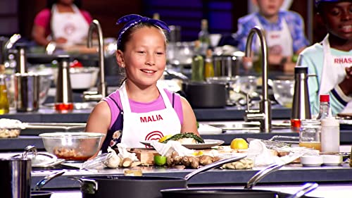 Masterchef Junior: Matthew Presents His Dish To The Judges