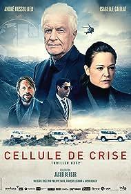 André Dussollier, Karim Saleh, Isabelle Caillat, and Luc Schiltz in Cellule de crise (2020)