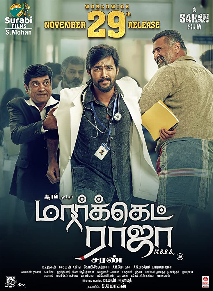 Market Raja MBBS 2019 Tamil 720p HDRip ESub 1GB | 460MB Download
