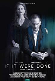 If It Were Done Poster