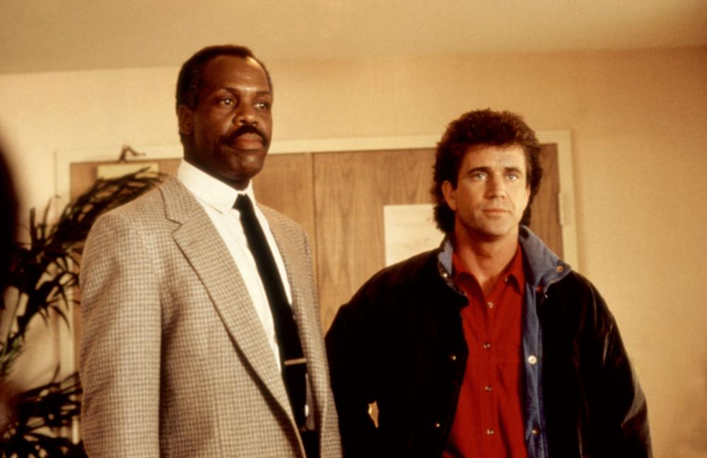 Mel Gibson and Danny Glover in Lethal Weapon 1987