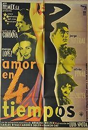 Amor en cuatro tiempos Poster