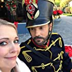 Melissa Joan Hart and Barry Watson in A Very Nutty Christmas (2018)