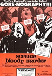 Scream Bloody Murder (1972) Poster - Movie Forum, Cast, Reviews