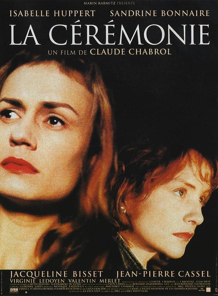 Isabelle Huppert and Sandrine Bonnaire in La cérémonie (1995)