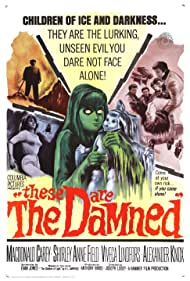 Oliver Reed and Shirley Anne Field in The Damned (1962)