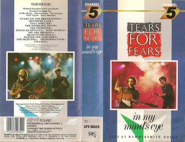 69e463a97f8fd Tears for Fears: In My Mind's Eye (1984)