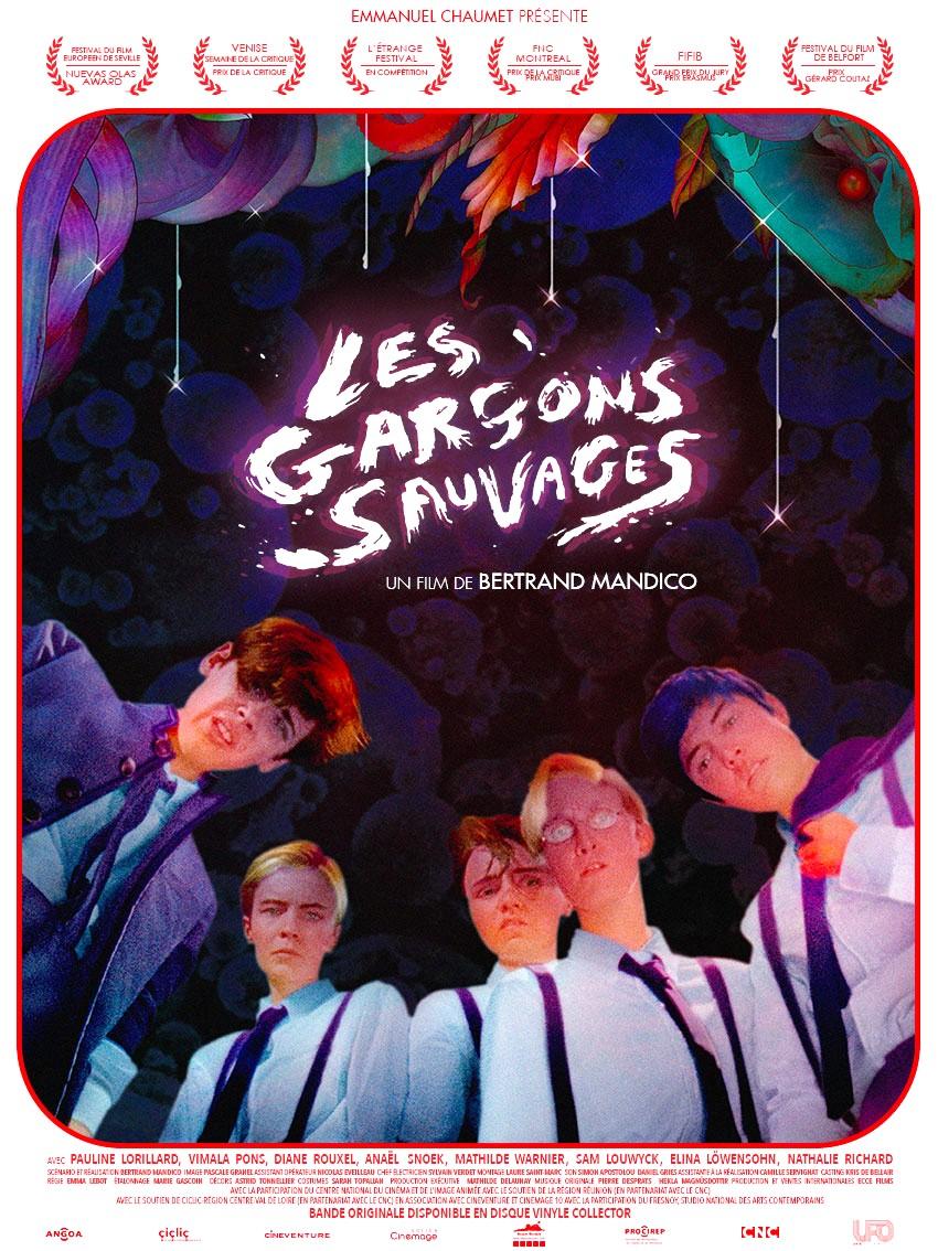 Pauline Lorillard, Vimala Pons, Anaël Snoek, Diane Rouxel, and Mathilde Warnier in Les garçons sauvages (2017)