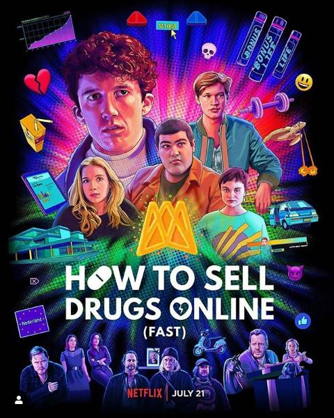 How to Sell Drugs Online (Fast) S2 (2020) Subtitle Indonesia