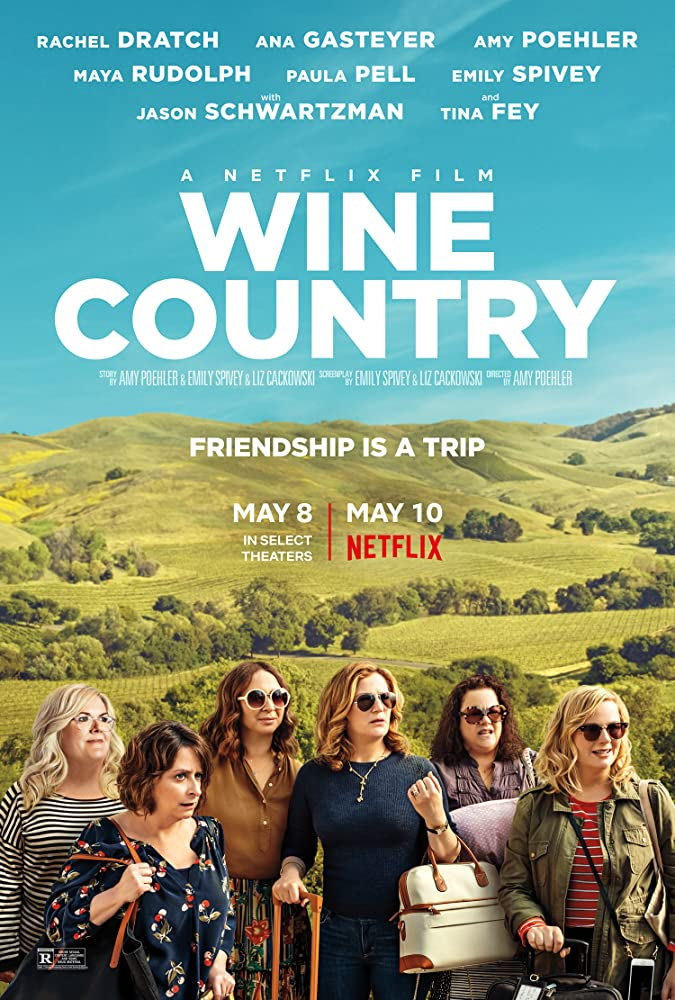 Rachel Dratch, Ana Gasteyer, Amy Poehler, Maya Rudolph, Emily Spivey, and Paula Pell in Wine Country (2019) may 2019 tv series
