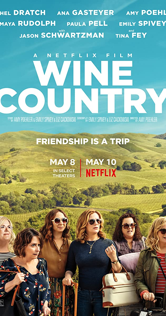 Play or Watch Movies for free Wine Country (2019)