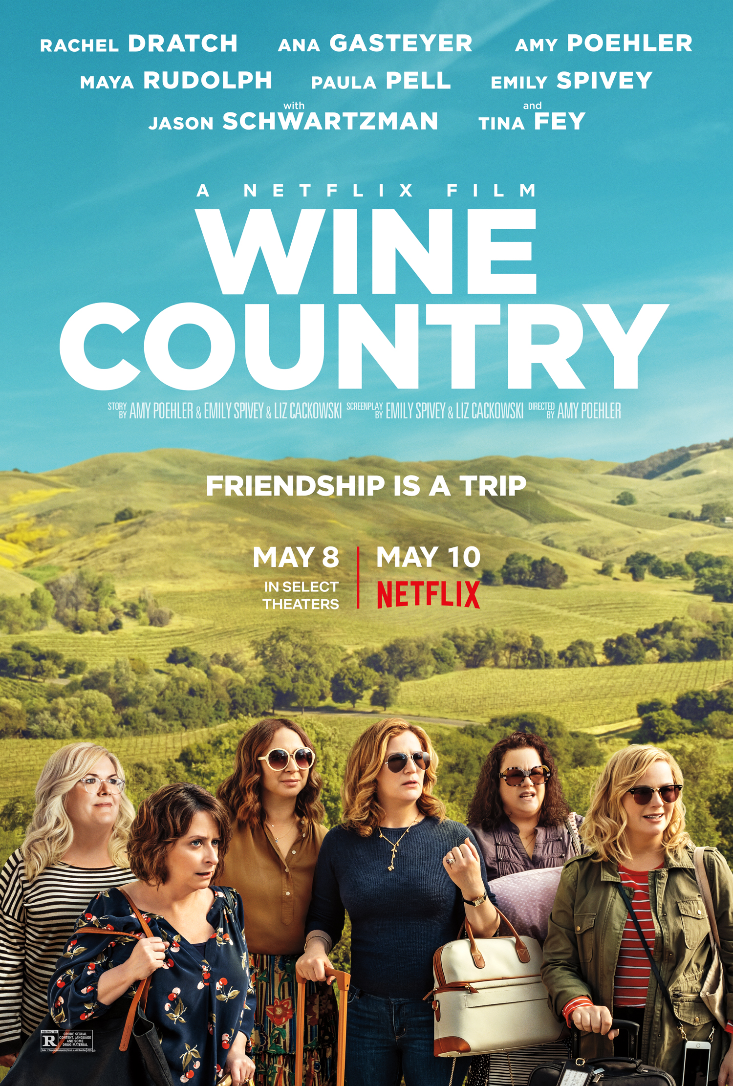 Wine Country (2019) WEBRip 720p
