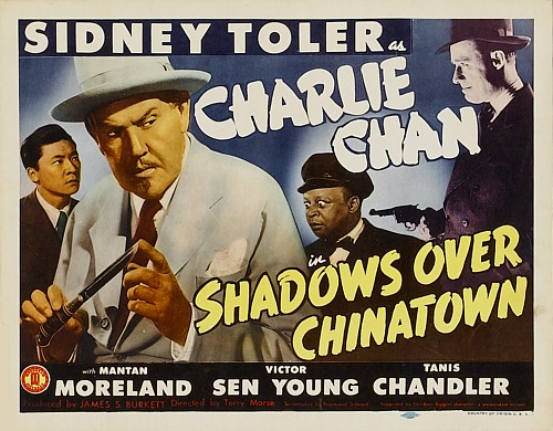 Mantan Moreland, Sidney Toler, and Victor Sen Yung in Shadows Over Chinatown (1946)