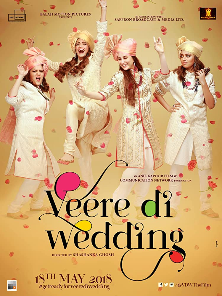 Veere Di Wedding (2018) Hindi 500MB Pre-DVDRip 720p HEVC x265