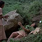 Marlene Clark and Rosemarie Gil in Night of the Cobra Woman (1972)